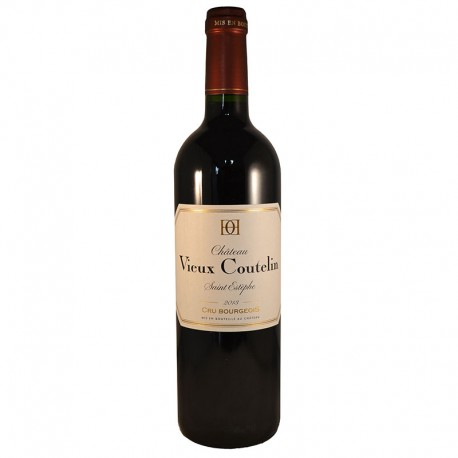 Château Vieux Coutelin, Vin rouge, 2013, AOP Saint-Estèphe Cru Bourgeois - Directchais.com