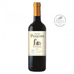 Château Pasquier, Vin rouge, 2015, Bordeaux - Directchais.com