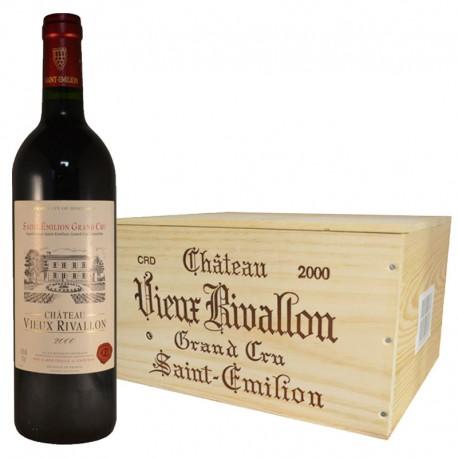 Château Vieux Rivallon 2000 Saint-Emilion Grand Cru - Directchais.com