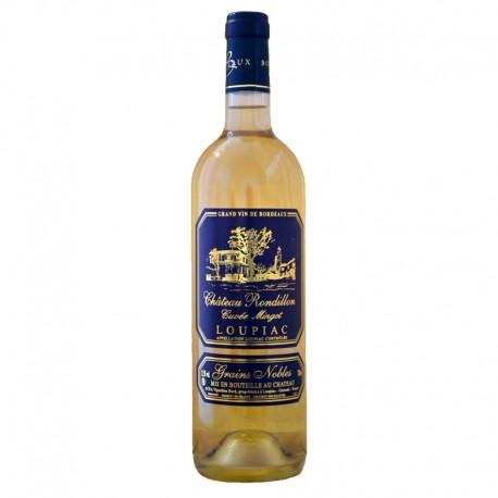 Château Rondillon Cuvée Mingot 2017 AOC Loupiac Blanc Liquoreux