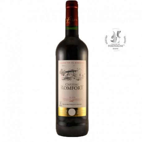 Château Romfort, Vin rouge, 2015, AOP Blaye Côtes de Bordeaux - Directchais.com