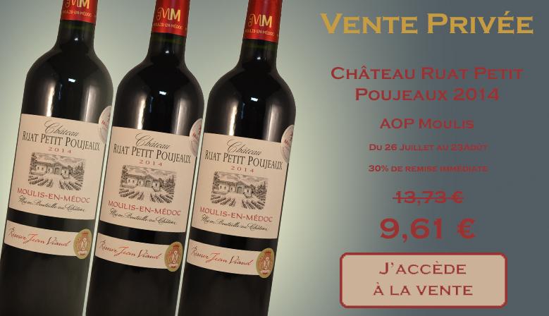 Vente Privée Ruat Petit Poujeau 2014